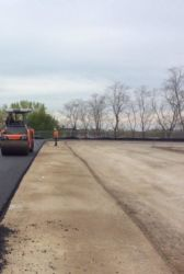 April 2016 - Asphalt Placement on Ingraham's Mountain