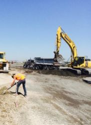 "July 2016 - Full Depth Pavement Repair at Taxiway ""J"""