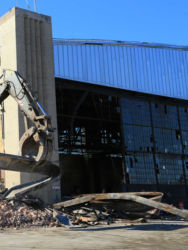 January 2015 - Demolition of Hangars 2 and 4