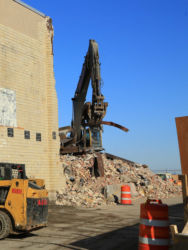 January 2015 - Demolition and Debris Clearance of Hangars 2 and 4