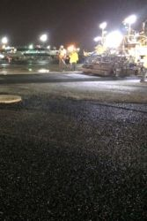 June 2016 - Asphalt Paving at Taxiway T