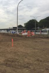 June 2016 - Excavation Work for Future Grand Central Parkway Entrance Ramp