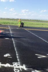 July 2016 - Runway 13-31 Line Striping