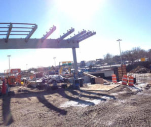 February 2015 - P4 Parking Garage Toll Plaza Canopy Steel