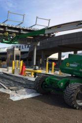 April 2015 - Lot P4 Garage Toll Plaza Installation Above Lanes 4 and 5