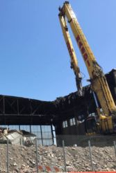 April 2015 - Delta Air Lines and United Airlines Hangars' Demolition