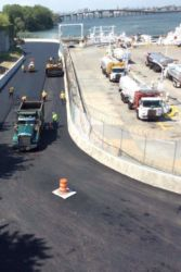 August 2015 - Bowery Bay Asphalt Placement