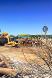 July 2015 - Hangars 2 and 4 Debris Removal