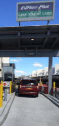 May 2015 - First Car to Utilize Lot P4 New Toll Plaza