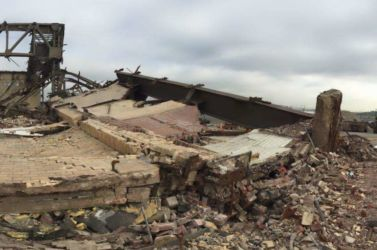 May 2015 - Debris at Hangar 4 Site