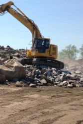 May 2015 - Ingraham's Mountain Rock Crushing Operation