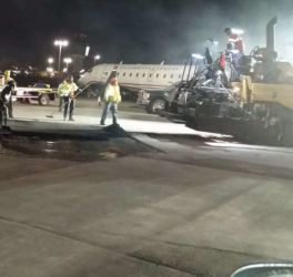 October 2015 - Paving along Ramp Area of Terminal C